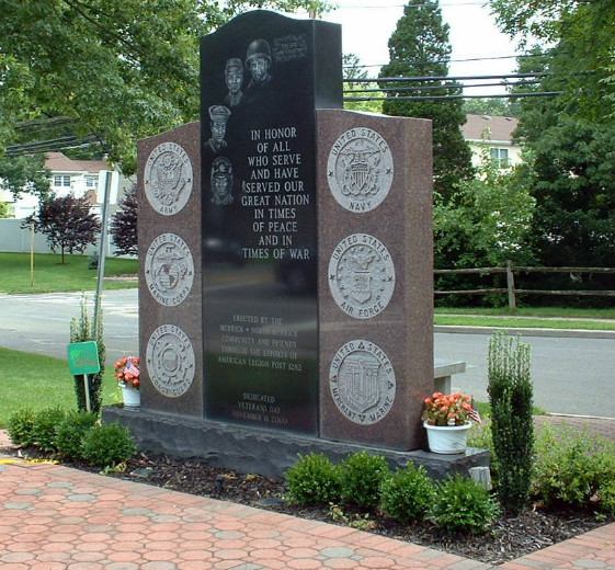 Another view of Front Main Monument